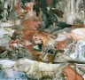 """Dodgy,"" Cecily Brown, 2004, Oil on linen"