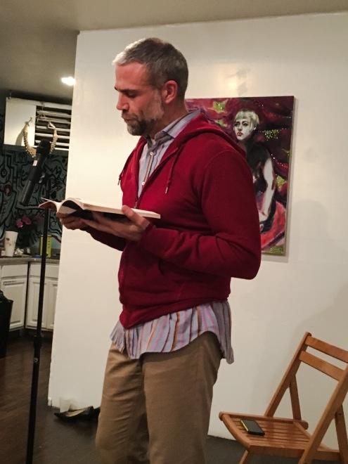 Poet Justin Petropoulos