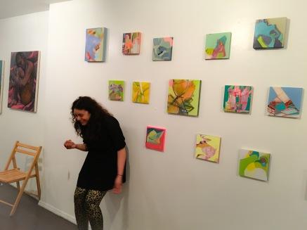 Artist Cynthia Alvarez